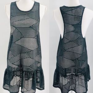 Miken Swim Racerback Tank Cover-Up Dress